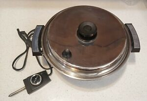 Vintage Webalco Stainless Steel Liquid Core west bend Electric tested