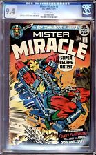 MISTER MIRACLE #6 CGC 9.4 WHITE PAGES  1ST APPEARANCE OF FEMALE FURIES
