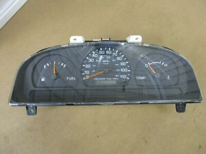 98-99 Nissan Frontier 2WD 5 Speed Manual Trans Gauge Cluster Dash Speedometer