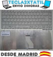 TECLADO ACER ASPIRE 5920 5920G SERIES GRIS / BLANCO NUEVO EN ESPAÑOL SP