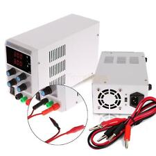 30V 3A Adjustable Variable Digital DC Regulated Power Supply Lab Grade w/ Cable