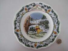 VINTAGE ROYAL DOULTON ENGLAND WINNIE THE POOH COLLECTORS WALL PLATE HONEY TREE