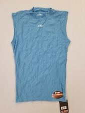 Ftp Mens Feel-Dry Sleeveless Compression Top | Light Blue | Large | 41103 | Nwt