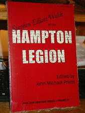 Stephen Elliot Welch of the Hampton Legion, S.C. Militia, Antietam, Civil War