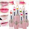 Flower Lipstick Color Jelly Transparent Magic Changing Lip Temperature Change T