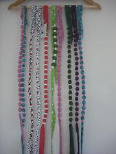 10 hecho a mano collares – granos y material – Media Rellenos O Puesto De Artesanía
