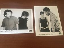 Set of 2 Press Photos EVERYTHING BUT THE GIRL Tracy Thorn And Ben Watt
