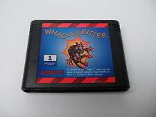 Whac-A-Critter (NTSC) Sega Genesis Megadrive Mega Drive Cart only