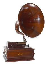 Mahogany Edison Opera Cylinder Phonograph - We Ship Worldwide