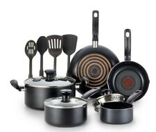T-Fal 12pc Simply Cook Nonstick Cookware Set Black (Free Shipping!)