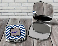 Personalised compact mirror, Custom compact mirror, Gift for her, Birthday gift