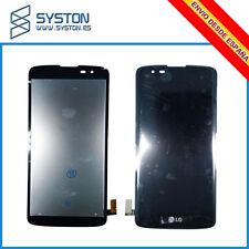 PANTALLA PARA LG K8 K350 K350N K350E K350DS TACTIL LCD Negra DISPLAY Black