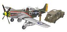 Tamiya 89732 North American P-51D Mustang & US Army Staff Car 1/48 scale kit
