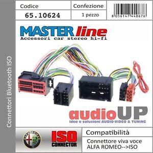 CONNETTORE ISO SISTEMA BLUETOOTH INTERFACCIA ALFA ROMEO MITO DAL 2014 IN POI.