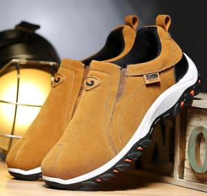 ORTRIVAL Shoes Men Casual Walking Sport Sneakers Orthopedic Anti-Slip Comfy Shoe
