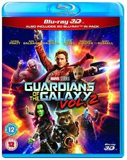 Guardians of the Galaxy Volume 2 3D Blu-Ray 3D + 2D BRAND NEW Free Ship
