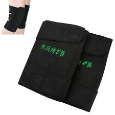 1pair Magnetic Therapy Knee Support Pad Self Heating Massage Health Care Bandage