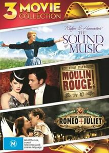 The Sound Of Music / Moulin Rouge / Romeo and Juliet DVD