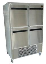 "Cooltech Stainless Steel 4-Doors Reach-In Cooler w/Casters 48""W Ckk-48Ri-Fd"