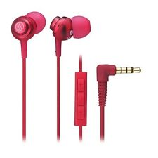 Audio-Technica ATH-CKL202i/RD Earphone For iPhone/iPad/iPod ATHCKL202i RED