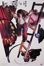 David Bowie 1987 Never Let Me Down Original Poster