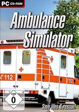 Ambulance Simulator    PC  NUOVO