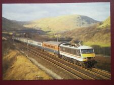 POSTCARD C4-1 CLASS 90 LOCO NO 90001 AT LUNE GORGE 23/2/88