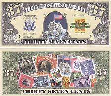 10 Modern Mail Postal History Novelty Money Bills Lot