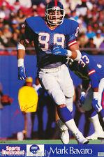 POSTER : NFL FOOTBALL :MARK BAVARO - NY GIANTS - FREE SHIPPING !   #7255 LP44 i
