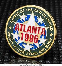 OLYMPIC PINS 1996 ATLANTA GEORGIA USA GAMES WHERE FUTURE STARS ARE BORN