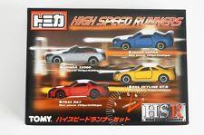 TOMICA 1999 HSR HIGH SPEED RUNNERS BOXSET - HONDA S2000 SUPRA RX7 R34 GT-R