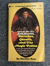 Barnabas Quentin And The Magic Potion Marilyn Ross Dark Shadows Gothic Pb 1971