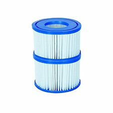 LayZ Lazy Spa Miami,Vegas, Monaco VI Twin Pack Pump Cartridge Replacement Filter