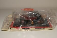 TT 1:24 HACHETTE CITROEN 2CV6 CHARLESTON 1982 MAROON BLACK MINT BOXED