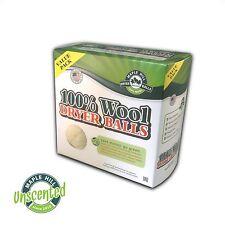 Maple Hill Dryer Balls set of 4 Unscented Wool Dryer Balls