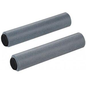 SupaCaz Siliconez XL Foam Handlebar Grips & Plugs - Lightweight XC - Gunmetal