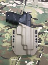 FDE Kydex SIG P226R Threaded Barrel Holster