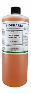 Potassium Dichromate 0.100 Normal Quart (950 ml)