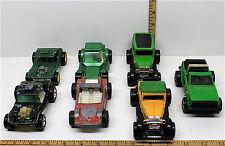 7 Vintage1970's Tootsietoys Die Cast Lot Super Slicks Bandido Dune Ford Model A