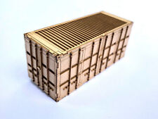 20ft MOD SHIPPING CONTAINERS LASER CUT KIT OO SCALE 1:76 MODEL RAILWAY LX177-OO