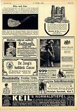 Rudolph Karstadt Kiel Matrosen Anzug Rex Simplex- Automobil Berlin Annoncen 1906