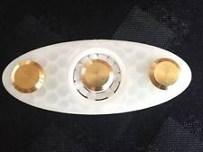 Geo-Lite Edition intranquilo Mano Dedo Spinner EDC bolsillo lleno de Cerámica & Brass