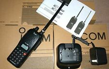 IC-V82 GOOD   ICOM RADIO  VHF136-174MHz transceiver 2-way WALKIE TALKIE radio 7W