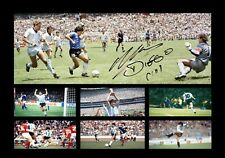 Diego Maradona Signed Photo