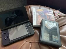 Red Nintendo 3ds XL Console With Games