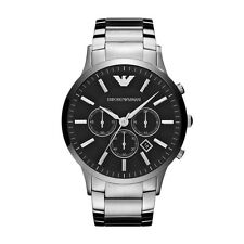 Emporio Armani Sportivo Watch Silver/Black Quartz Analog Men's Watch AR2460