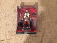 POE DAMERON STAR WARS FORCE AWAKENS ELITE SERIES DIECAST FIGURE DISNEY STORE NIP