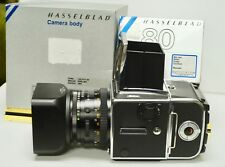 HASSELBLAD 503cw OUTFIT, 80mm f2.8 PLANAR CF, A12 BACK, FILTERS, NEAR MINT