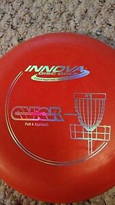Innova Aviar Putt and Approach 150 gram orange oop stamp golf disc