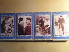 Fernandel, Gino Cervi/Don Camillo & Peppone 4er Set/VHS